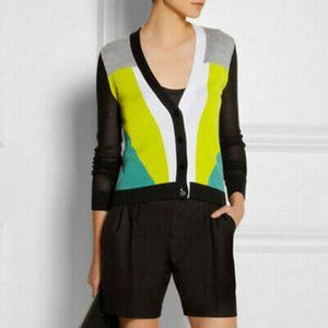 Peter Pilotto for Target Colorblock Cardigan, XS